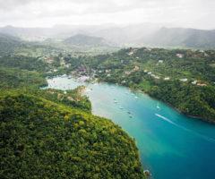 Marigot, St Lucia. Photo courtesy Westend61 GmbH/Alamy Stock Photo