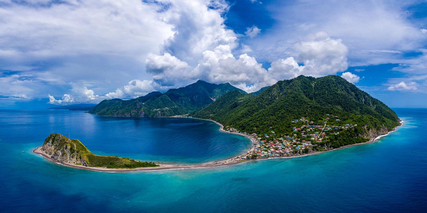 Soufrière Bay, Dominica. Photography courtesy the Discover Dominica Authority