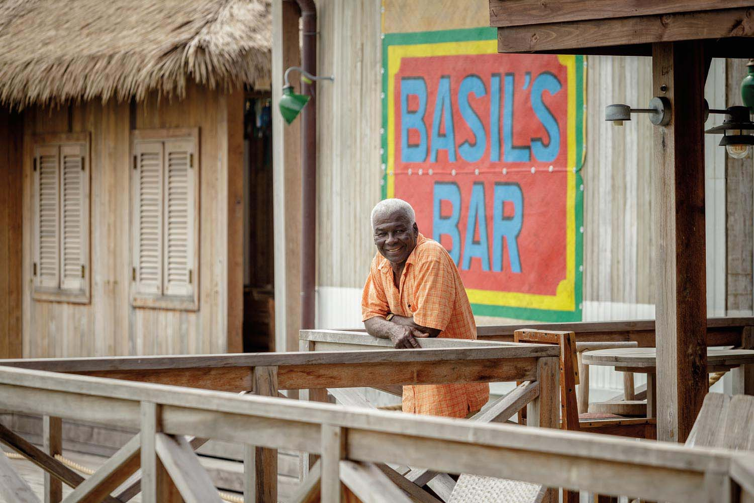 Basil Charles. Photo by The Mustique Company