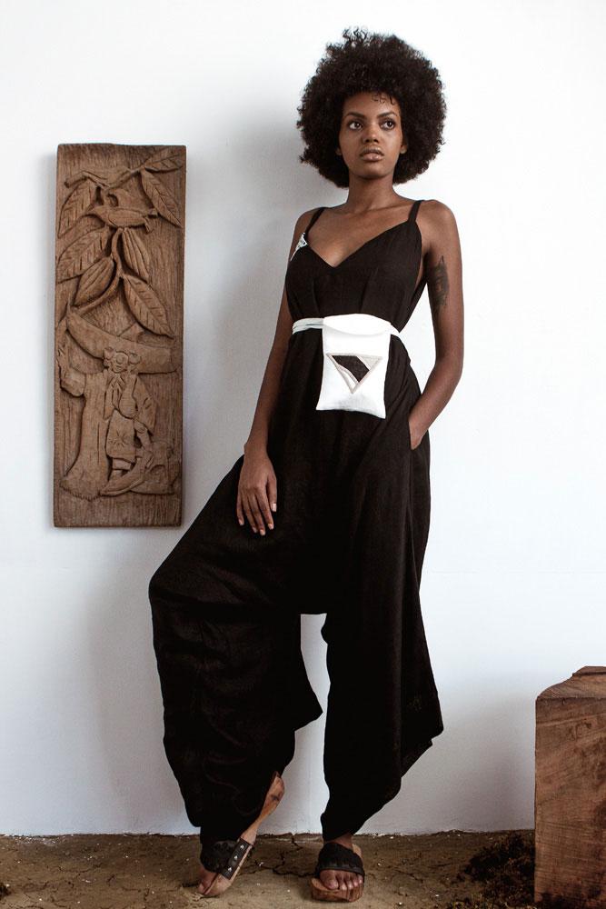 Photography courtesy The Cloth. Model: Gabriella Bernard