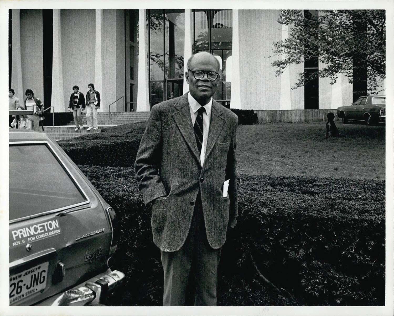 Sir Arthur Lewis. Photo by Keystone Press/Alamy Stock Photo