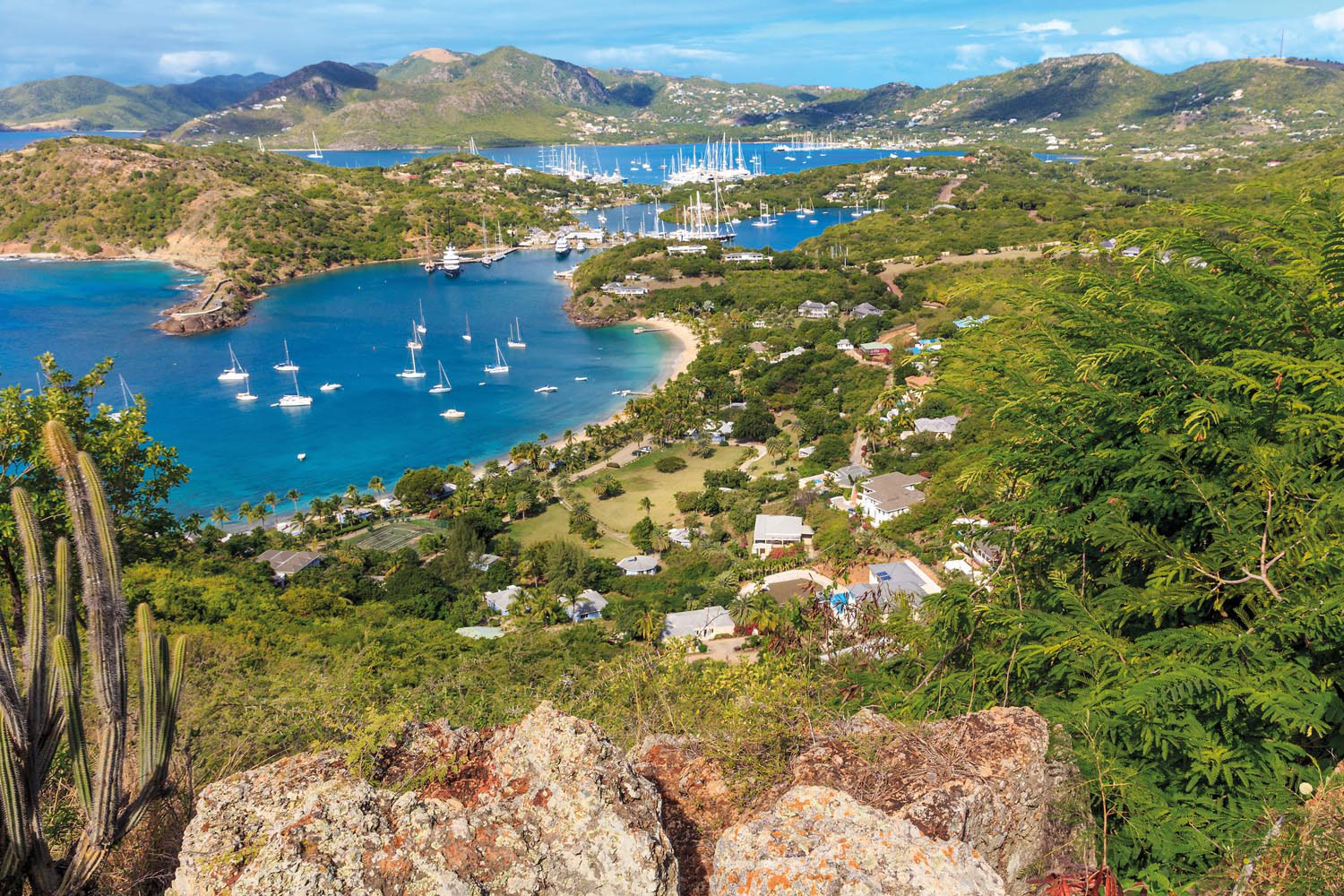 A cross-country bike ride is an invigorating way to explore Antigua's glorious landscape. Photo by Bertl123/Shutterstock.com