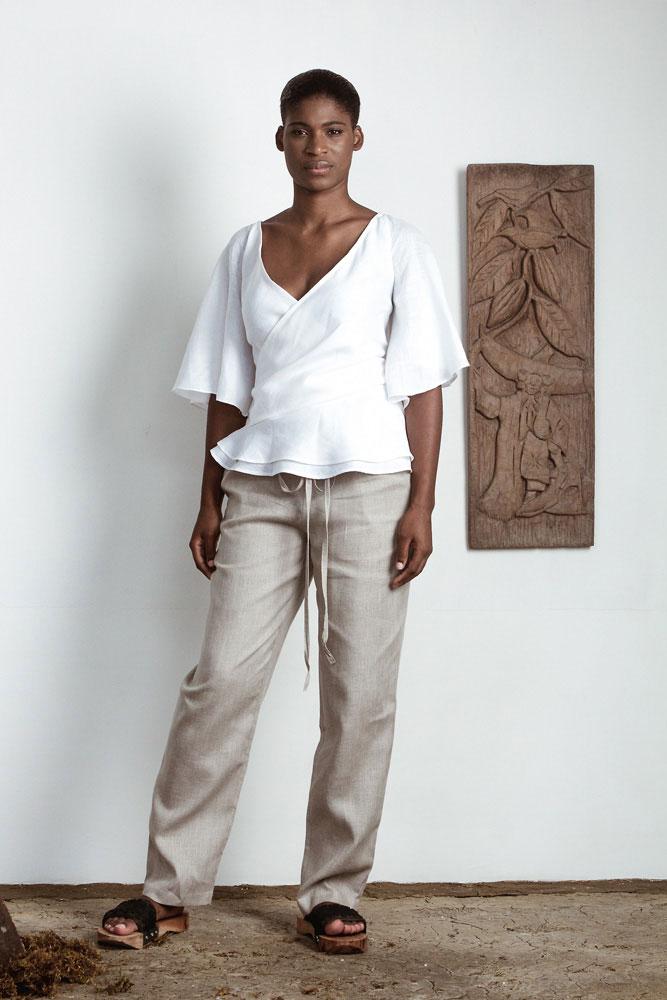 Photography courtesy The Cloth. Model: Glenesia Wilson