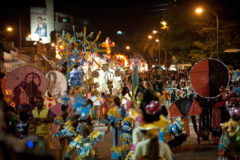 Carnival in Santiago, Cuba's second biggest city. Photograph by Torukojin/iStockphoto.com