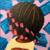 Fresh to Death (2020, acrylic, 24 x 24 inches). Courtesy Akilah Watts