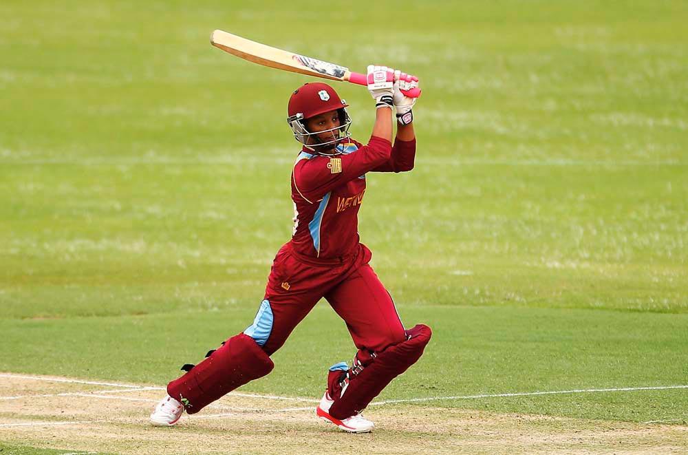 Merissa Aguilleira on the field. Photo by Mark Nolan —CA/Cricket Australia/Getty Images