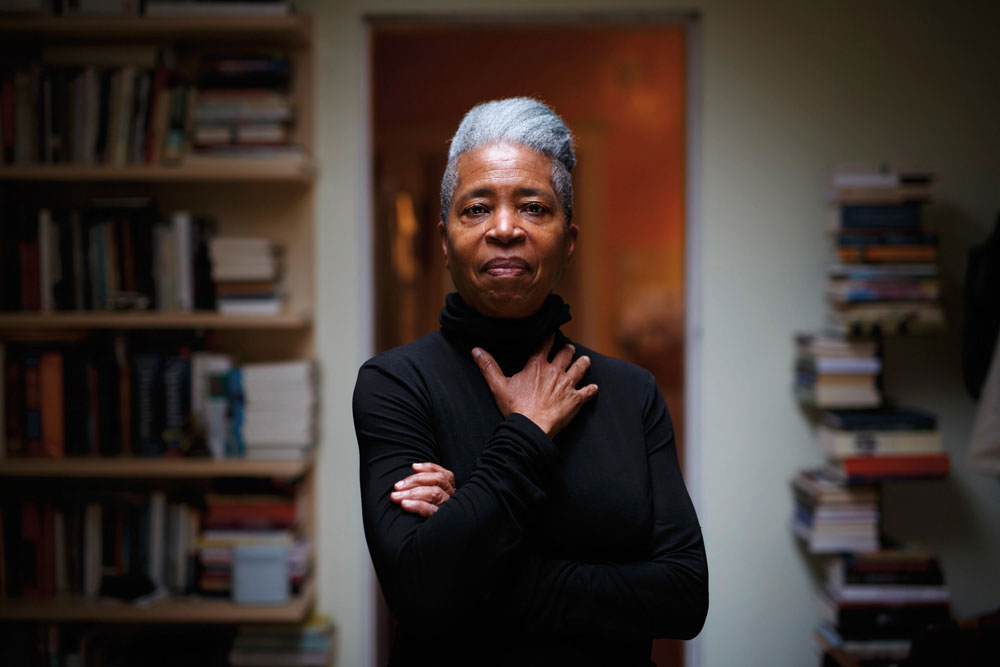 Dionne Brand. Photography by Cole Burston