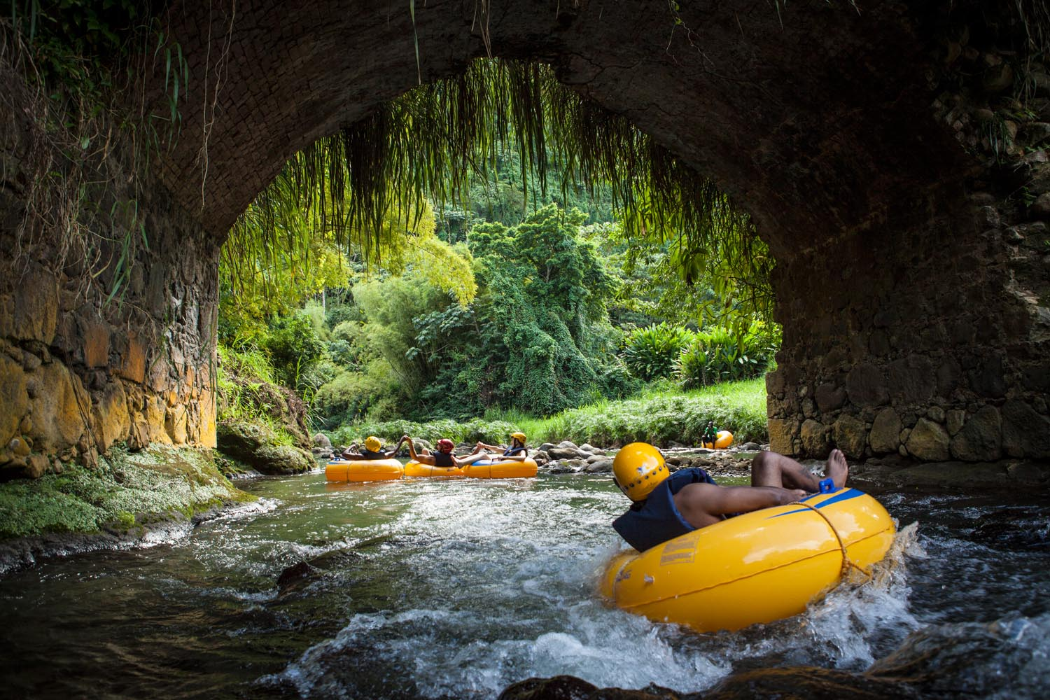 Adventure afloat on one of Grenada's many rivers. Photo courtesy Pure Grenada Tourism Authority
