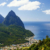 The Pitons rising above Soufrière are the icons of St Lucia. Photograph by Lucia Pitter/Shutterstock.com