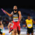 """A finish for the ages,"" said the commentators: Machel Cedenio on the final leg of the men's 4x400-metre event at the 2019 World Relays championship in Yokohama, Japan. Photo by Roger Sedres/Shutterstock.com"