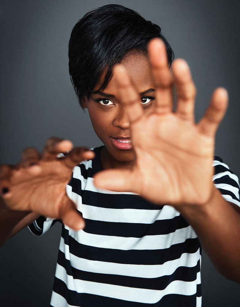 Actress Letitia Wright. Photo by Kwaku Alston photography, Inc.