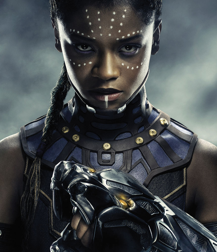 Letitia Wright's breakout role: Shuri, sister of Black Panther's protagonist. © Marvel Studios 2018