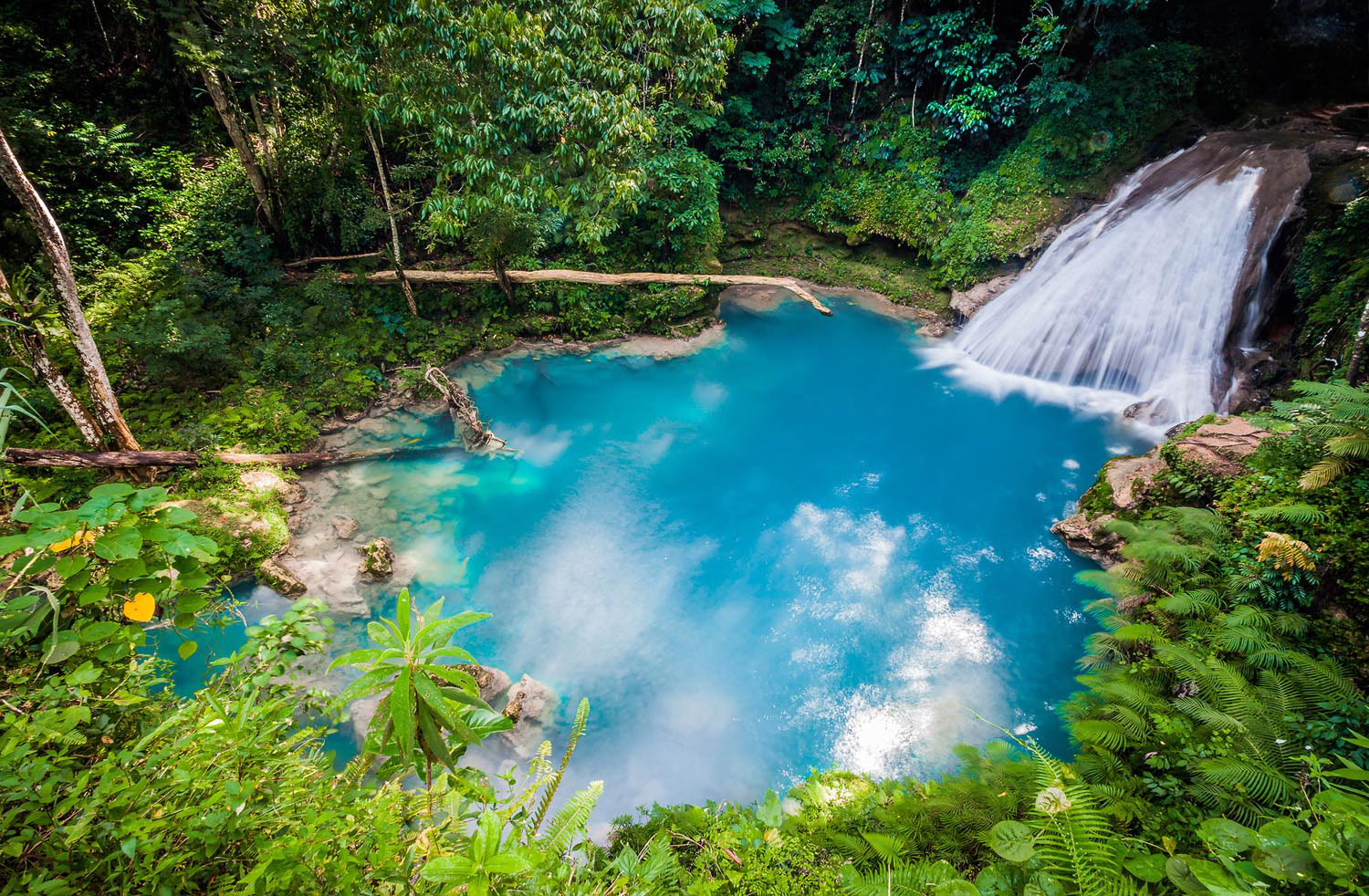 The oasis of Secret Falls above Jamaica's north coast. Photo Spirit/Shutterstock.com