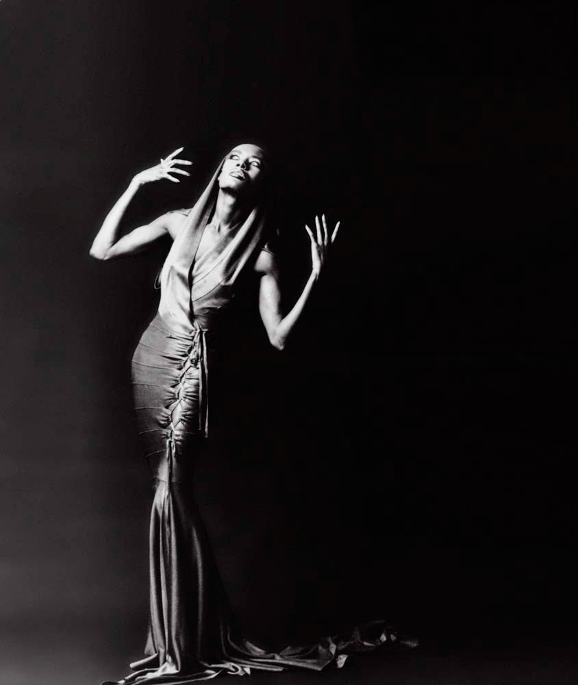 Grace Jones in 1986. Balcor Film Investors/Ronald Grant Archive/Alamy Stock Photo
