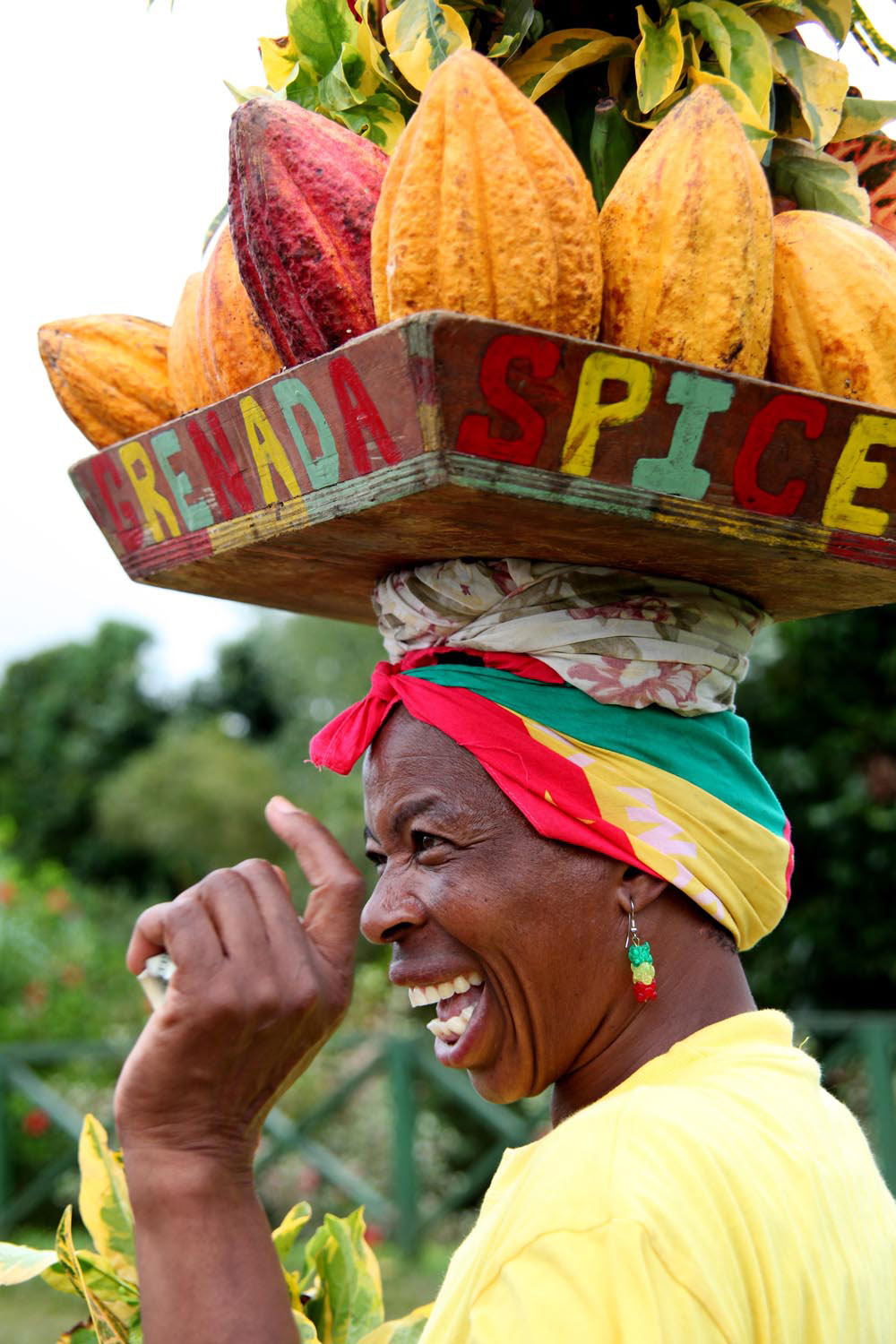 The flavour and the friendly spirit of Grenada. Photograph by Oscar C. Williams/Shutterstock.com