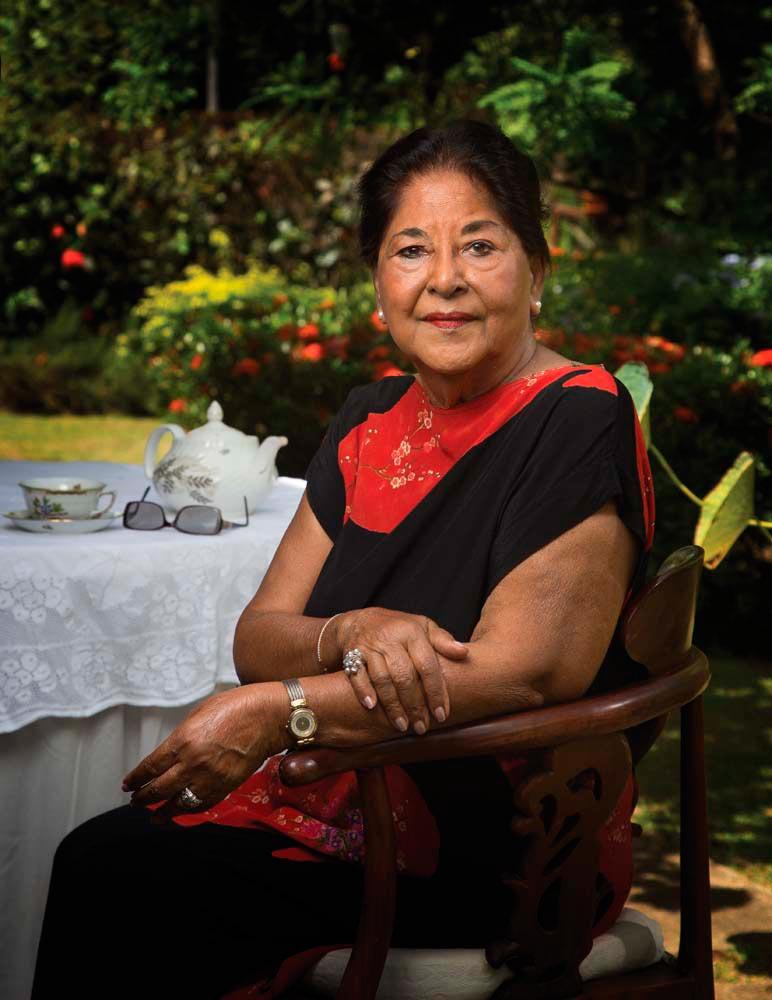 Savi Naipaul Akal. Photo by Mark Lyndersay
