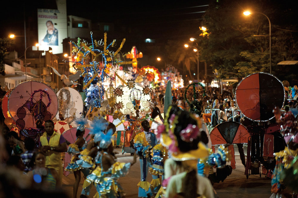 Heat and noise, colour and chaos: Santiago de Cuba's July Carnival overwhelms all the senses. Photo by Torukojin/iStockphoto.com