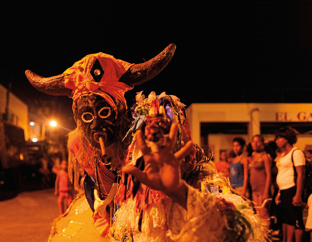 Carnival in Santiago, Cuba's second city. Photo by Evelyn Paley/Alamy Stock Photo