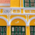 The façade of the ornate Penha Building, one of Curaçao's historic landmarks. Photo by Carol J. Saunders/Alamy Stock Photo