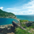 Looking down to Soufrière Bay from Scotts Head. Photograph by Images Dominica