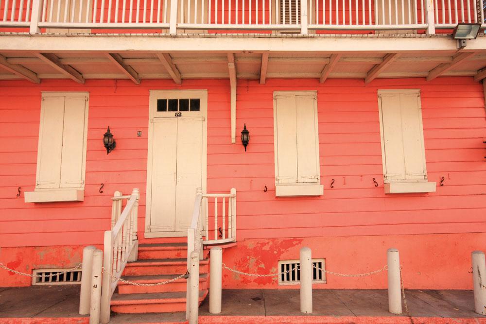 Balcony House in downtown Nassau is an architectural landmark. Worachat Sodsri/Shutterstock
