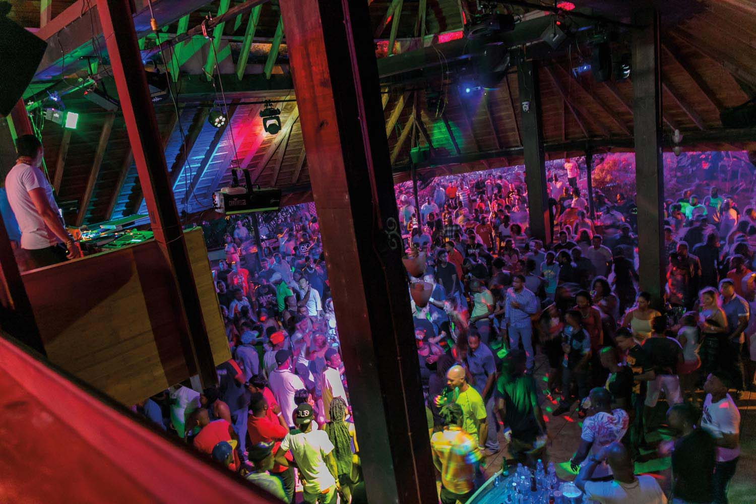 After dark, Tobago's party scene comes to life. Photo courtesy The Shade Nightclub