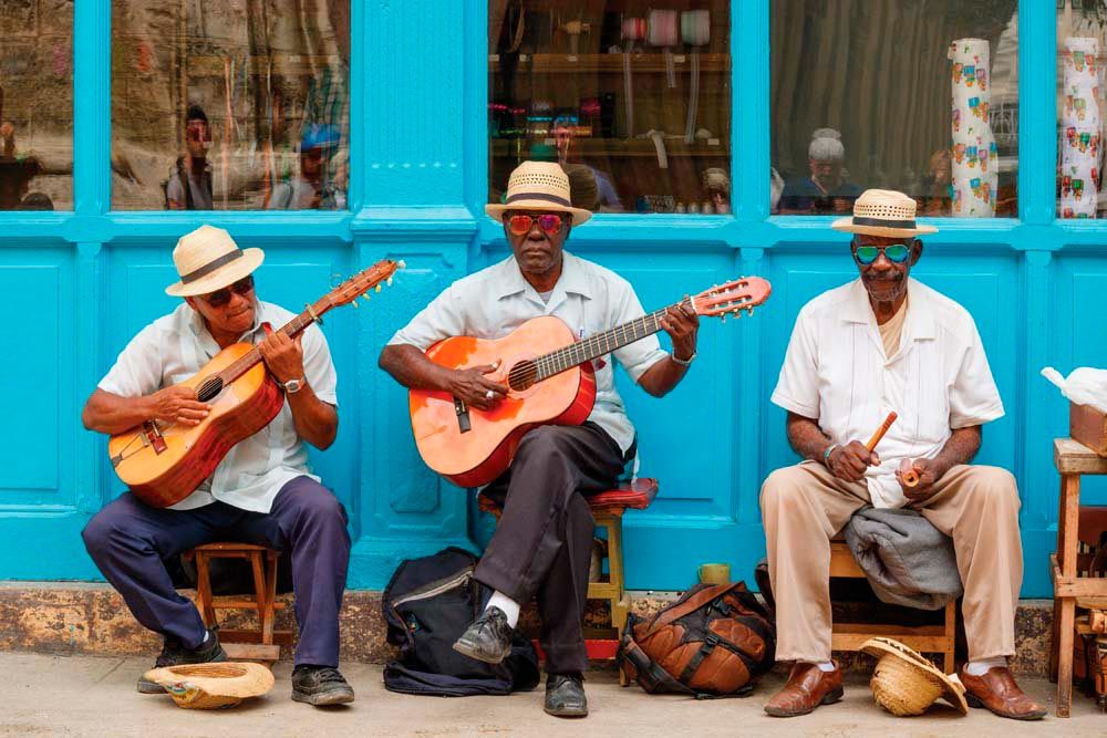 The streets of Old Havana are alive with traditional music. Photo by Evijaf/Shutterstock.com