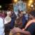 A tassa side accompanies a tadjah on Big Hosay night. Photograph by Mark Lyndersay