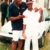 Viv Richards with son Mali. The younger Richards is captain of the Antigua and Barbuda youth cricket team. Photo by Colin Cumberbatch