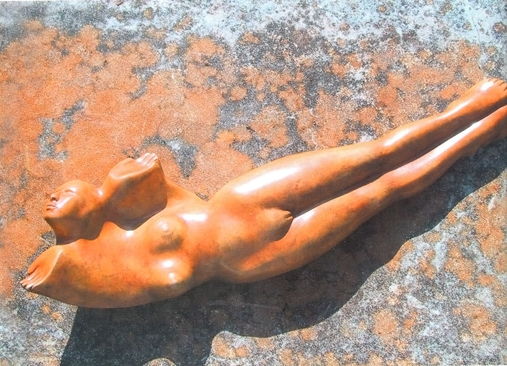 Surrender (1998). Photograph courtesy Laura Facey