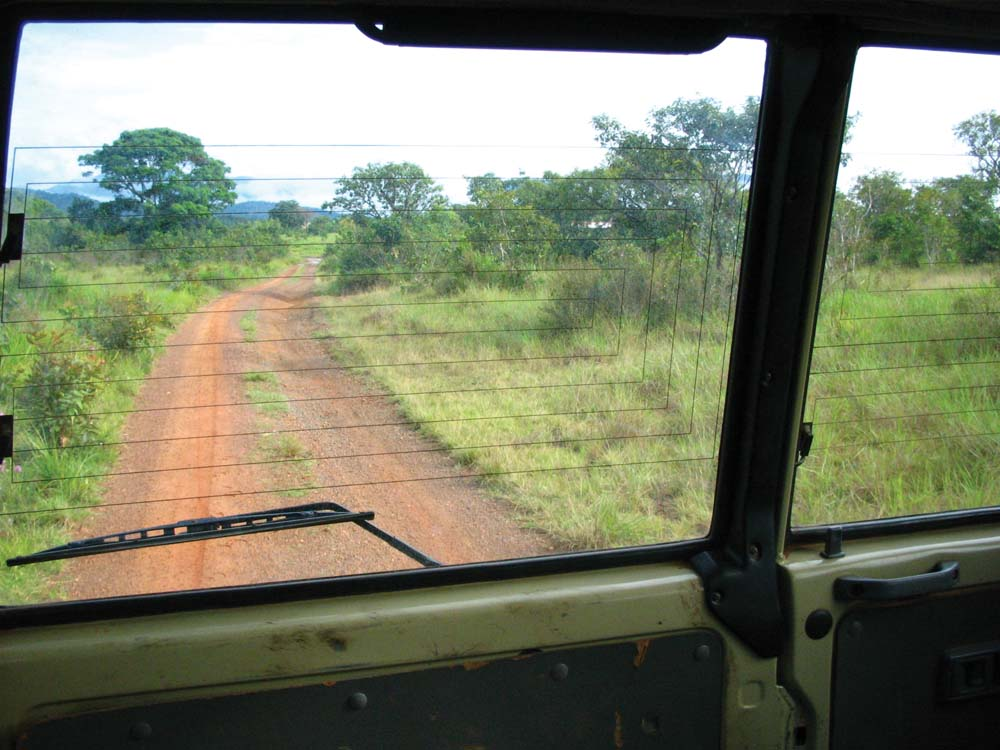 Leaving Surama by 4x4, the most reliable means of transport in the Rupununi. Photo by Nicholas Laughlin
