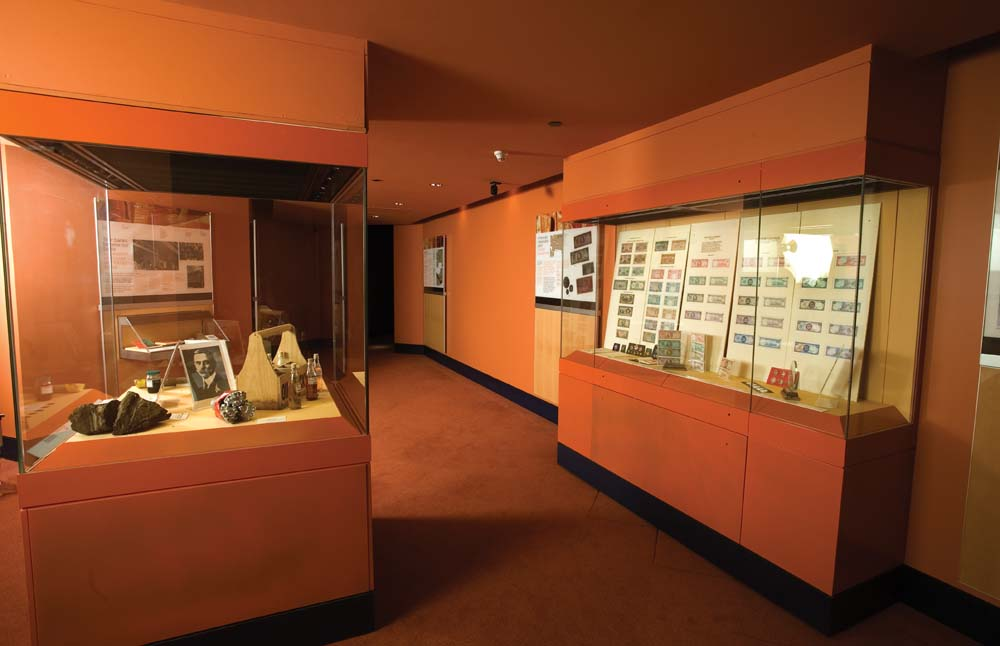 The Money Museum traces the evolution of the Trinidad and Tobago economy. Photo by Mark Lyndersay