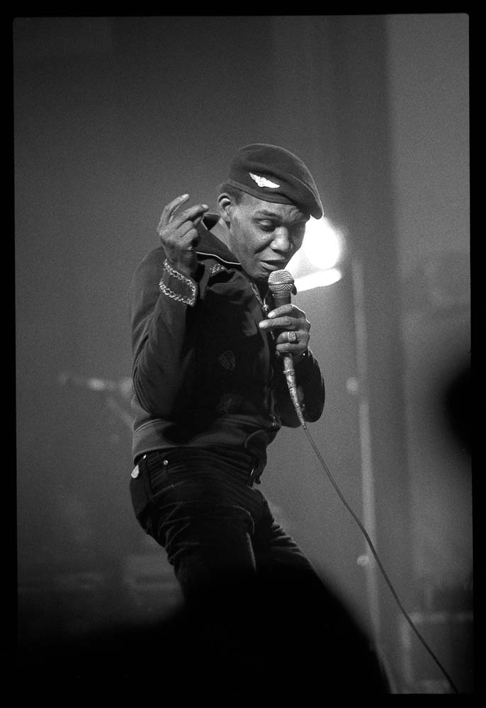 Desmond Dekker performing in London in 1985. Photo by David Corio