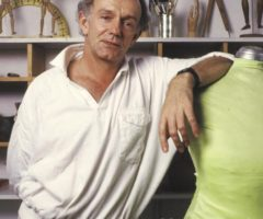 Peter Minshall in the 1980s. Photograph by Mark Lyndersay