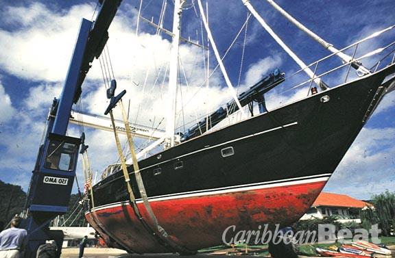 Boats at Chaguaramas