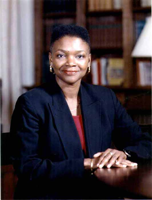 Baroness Amos. Photograph courtesy the British High Commission