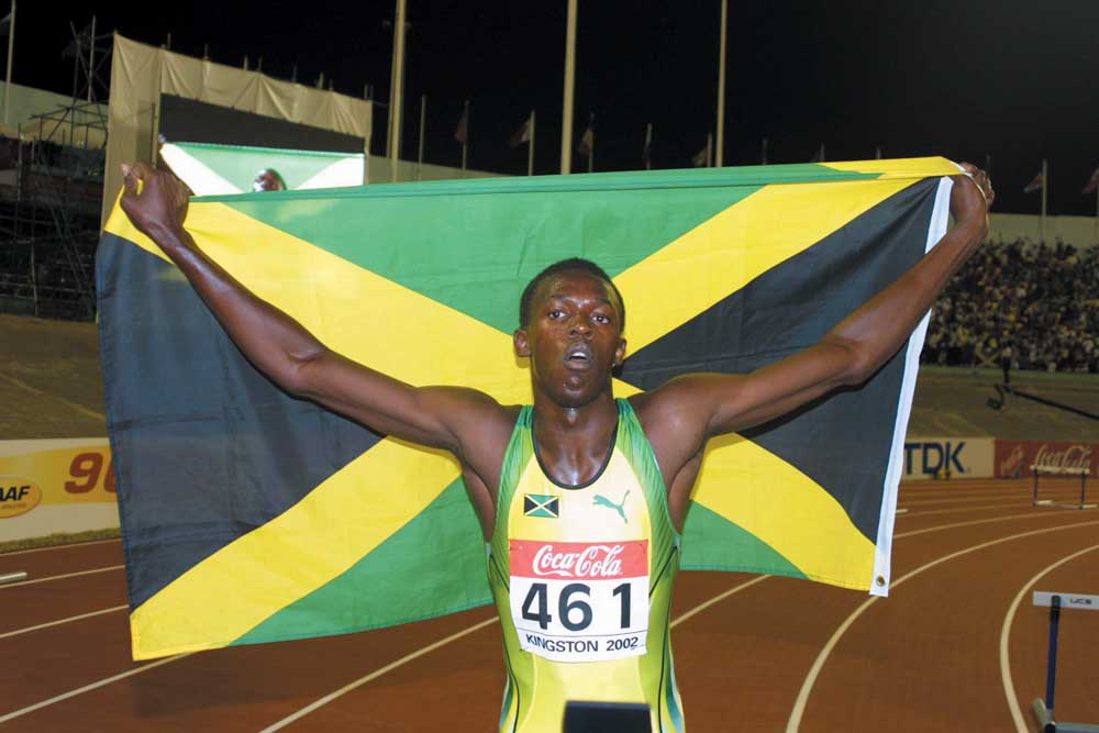 Usain Bolt. Photograph by The Jamaica Observer