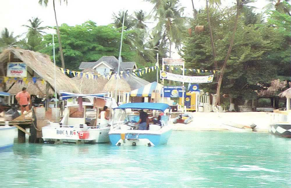 Picturesque Pigeon Point is the headquarters for the annual Tobago tournament. Photograph by Peter Tyson