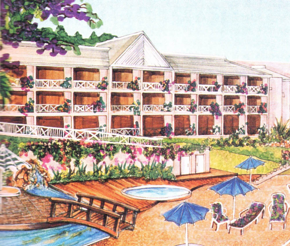 The new Gran Courland resort on the west coast of Tobago. Photograph by Gran Courland