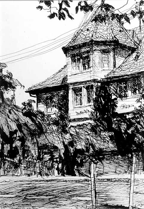 Sketch by Mark Lynderday