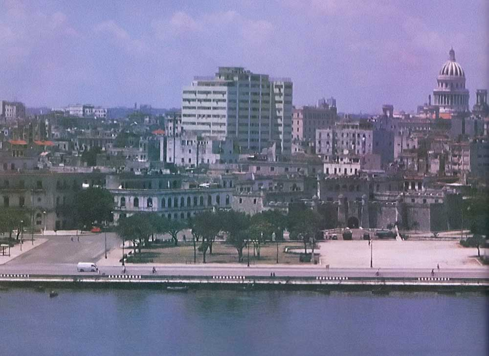 Old Havana, from the Morro castle. Photograph by Christopher Cozier