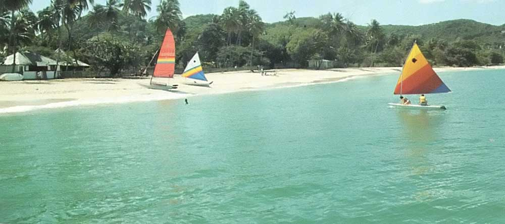 Grand Anse beach. Photograph by Jim Rudin