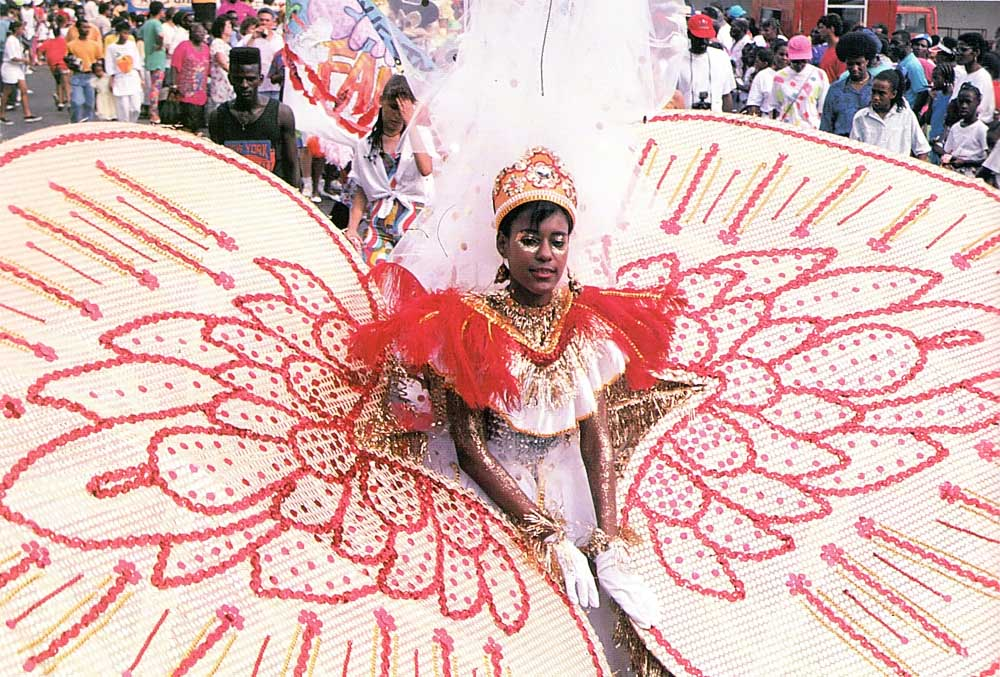 Grenada holds its annual Carnival in August. Photograph by Jim Rudin