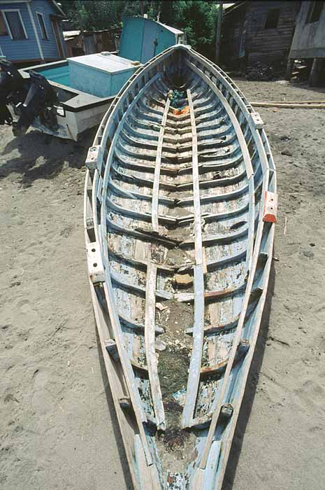 Traditional fishing boat. Photograph by Jim Rudin
