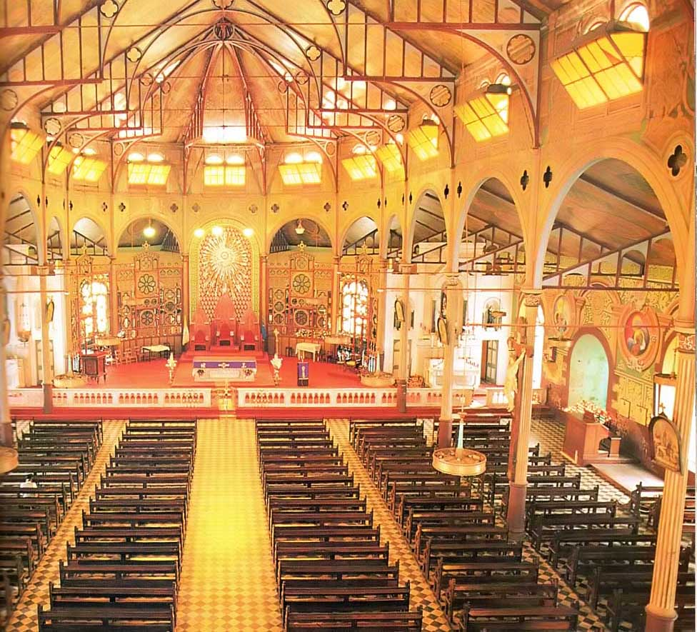 The Cathedral of Immaculate Conception St Lucia. Photograph by Chris Huxley
