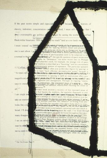 Works on Process (1977), by Steve Ouditt. Photograph courtesy inIVA