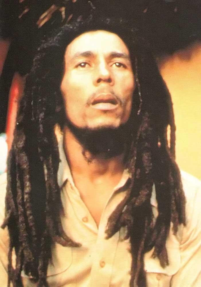 Reggae superstar Bob Marley