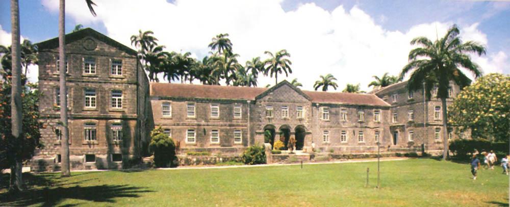 Codrington College: the main building. Photograph by Felix Kerr