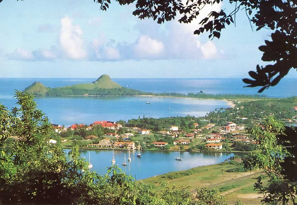 Part of the popular Rodney Bay development in St Lucia. Photograph by Rodney Bay