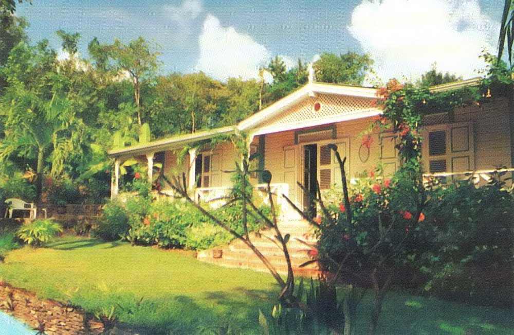 Bois Cotton, an up-market property which came onto the market in St Lucia this year for upwards of half a million dollars. Photograph by Home Services